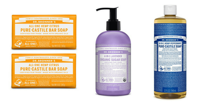 cruelty-free cleaning products guide vegan dr. bronner's