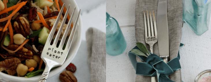 gifts for vegans plant eater fork etsy gift