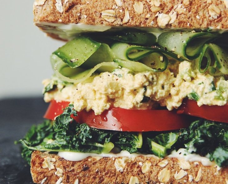 eggless+salad+sandwich+(vegan)+|+RECIPE+by+hot+for+food