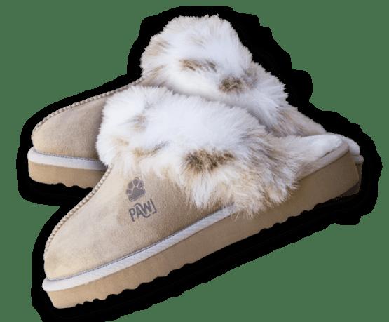 pawj vegan slippers ugg style
