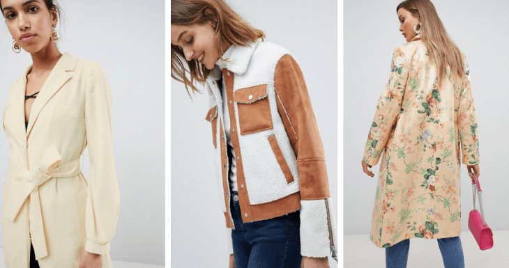 vegan jackets asos fall 2018