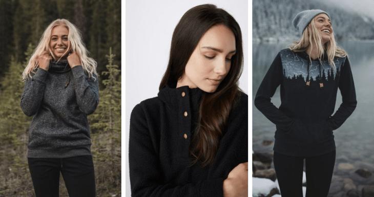 vegan sweaters sweatshirts tentree 2018