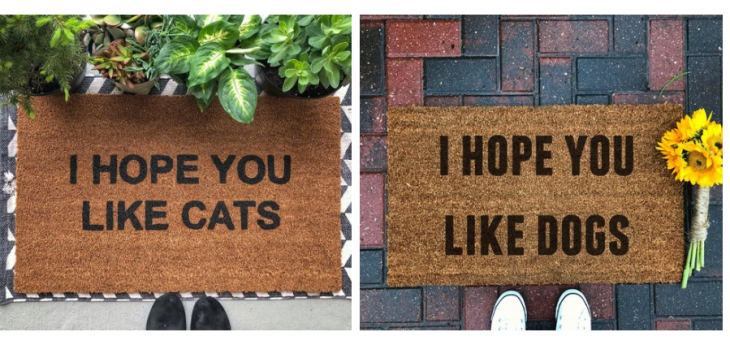 gifts for animal lovers 2018 i hope you like dogs cats