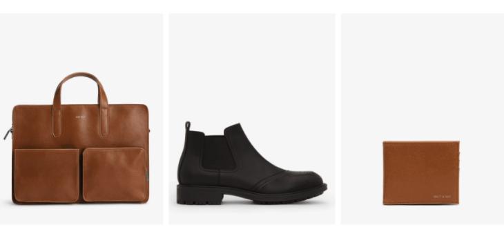 vegan gifts for men matt and nat vegan briefcase wallet