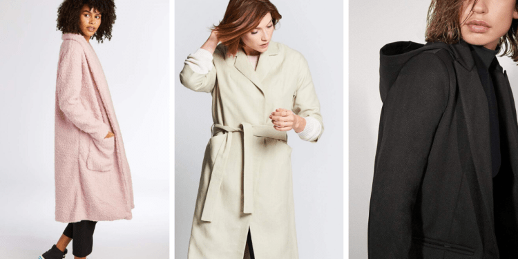 Three lightweight vegan jackets sold by Petit Vour