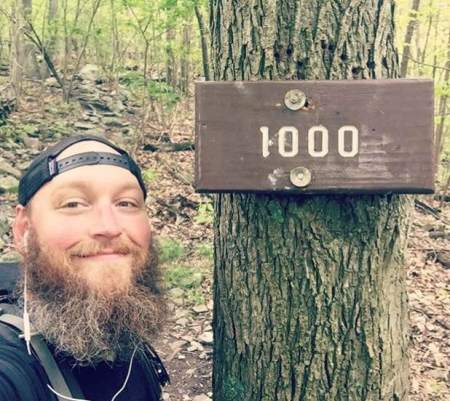 1,000 miles hiked.