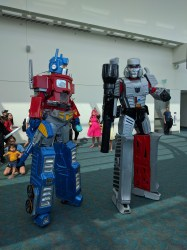 Transformers in the Flesh