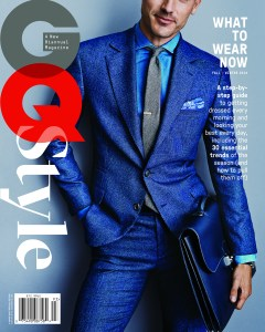 GQ - Style issue - What to wear now - Fall/Winter 2014