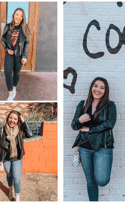 3 Ways To Style A Leather Jacket For Fall