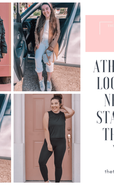 Athleisure Looks You Need To Start Out The New Year
