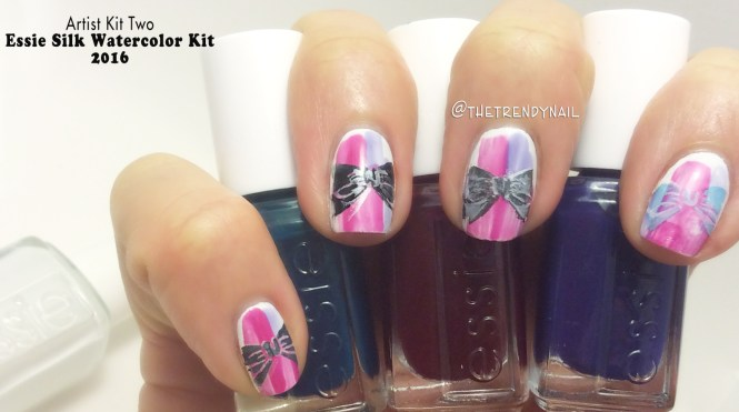 But It Is Likely That I Would Be Using These Colors For Leadlight Nail Art Have You Purchased Any Of Essie Silk Watercolor