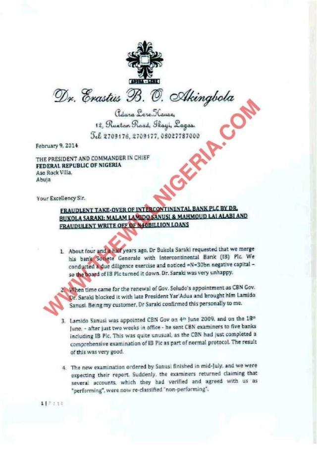 Dr. Erastus Akingbola Document The bTrent