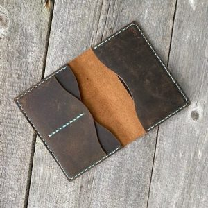 Handcrafted Leather Passport Cover