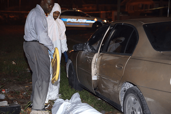 Man found shot dead in car with engine running off ...
