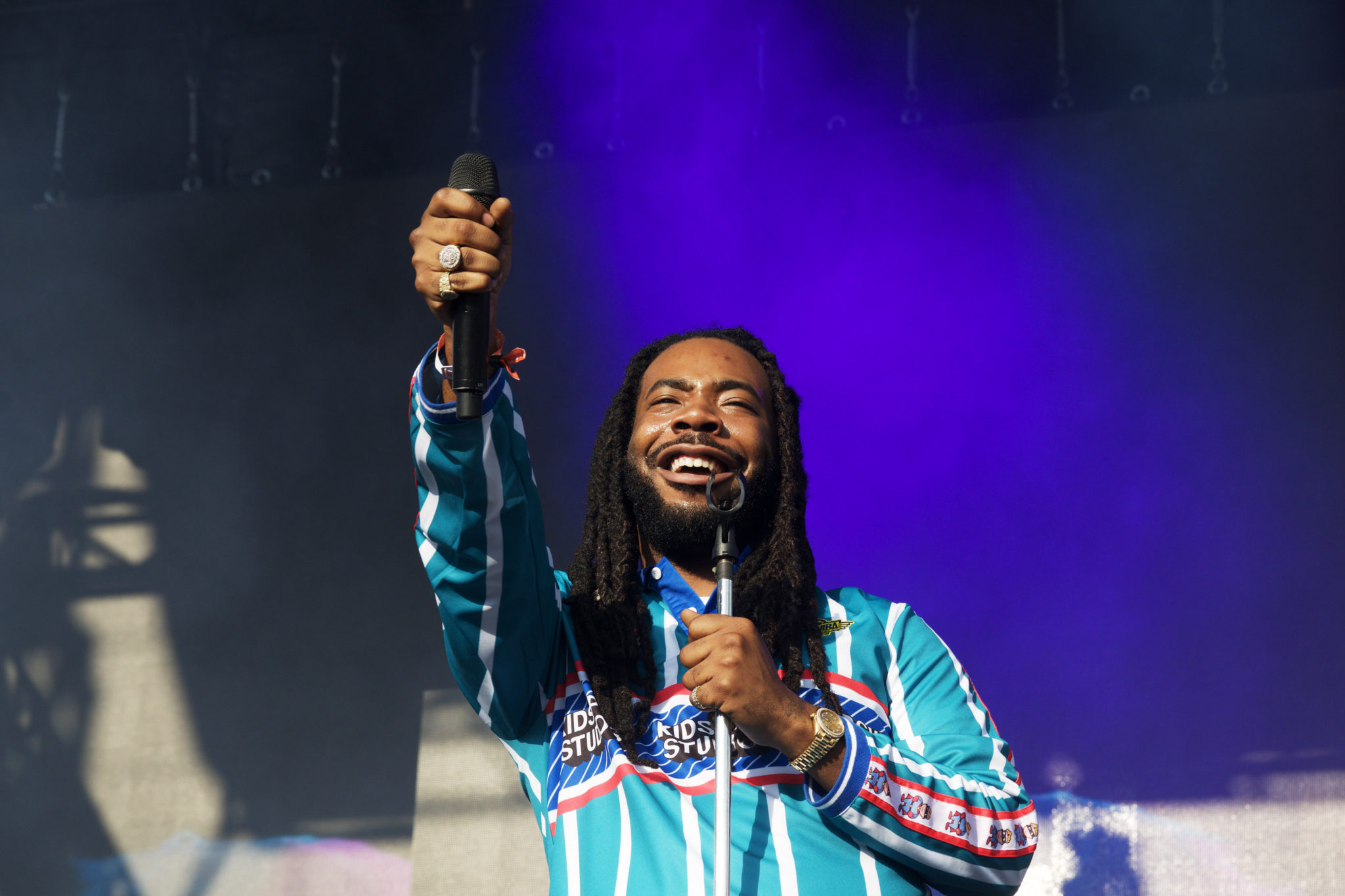 DRAM at his Pitchfork set   Photo by Nelson Okunlola (The TRiiBE)
