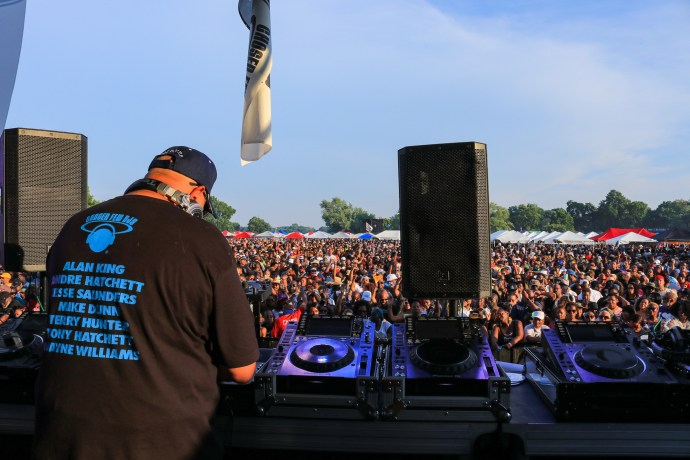 Chosen Few DJ Wayne Williams