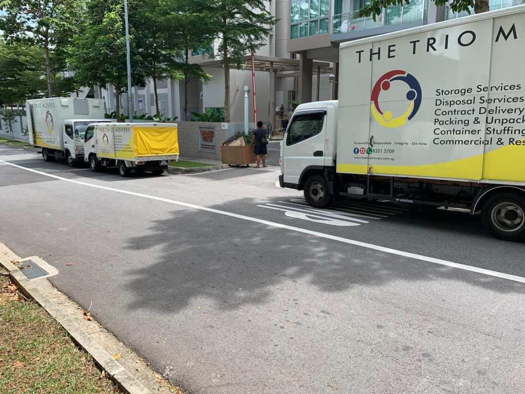 Moving Company Singapore The Trio Movers