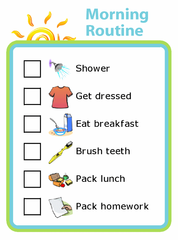 Make your mornings run more smoothly by empowering your kids! The Trip Clip makes it easy to create and print custom morning routines for your kids. Try it at your house and find out how capable your kids are! You will finally have time to finish that cup of coffee.