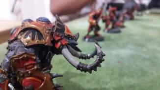 Titan Gladiator posing