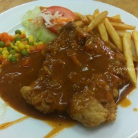 Chicken Chop unique only to Malaysia @ All Right Western Food |Penang