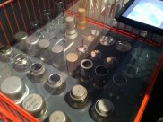 ALESSI Made in Crusinallo. This display shows is the production processes of ALESSI products