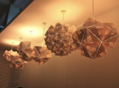 Foldability's Sonobe Collection is inspired by the Japnese art of paper folding, origami