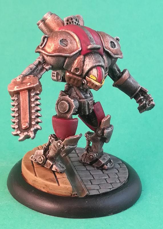 Iron Kingdoms Bulldog Steamjack