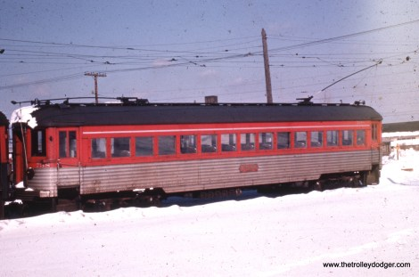 Silverliner 738 in the snow.