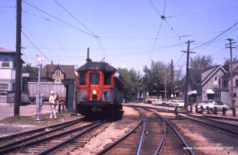 Another fantrip train. Perhaps one of our knowledgeable readers can identify the location.