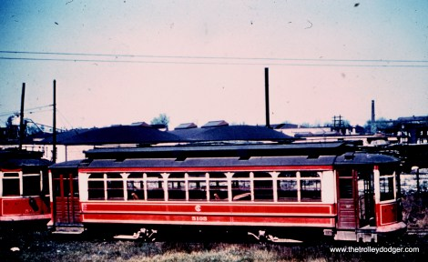 Car 5105 in the Burnside yard.