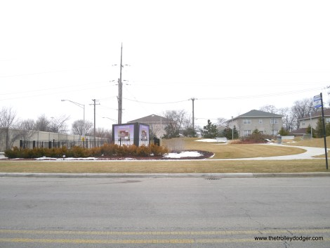 Bellwood Estates, as seen from the corner of Bellwood Avenue and Harrison, just north of I290. This development was not here in 2011.