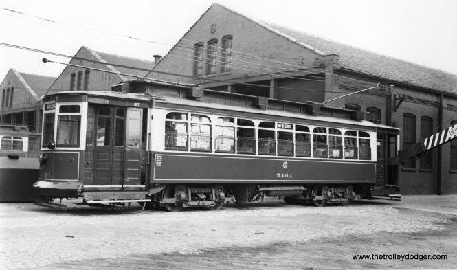 """CSL 5404 """"at 77th by 'east house' (now east half of barn that street between halves was roofed over)."""" -Andre Kristopans (Joe L. Diaz Photo)"""
