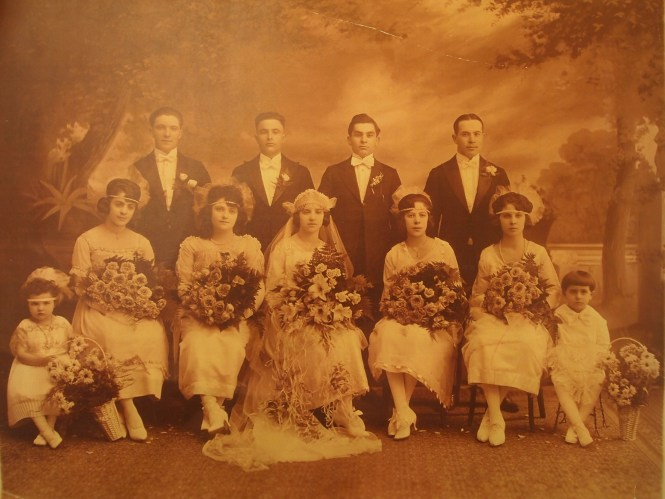 1920 October 31 Natale Colletti Carmela Nellie Colletti Wedding