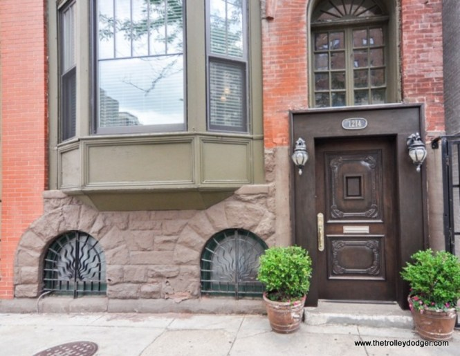 The townhouse at 1214 N. LaSalle as it looks today.