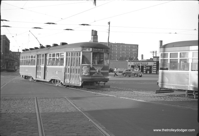 CSL 6300 on route 4 - Cottage Grove in the early CTA era.