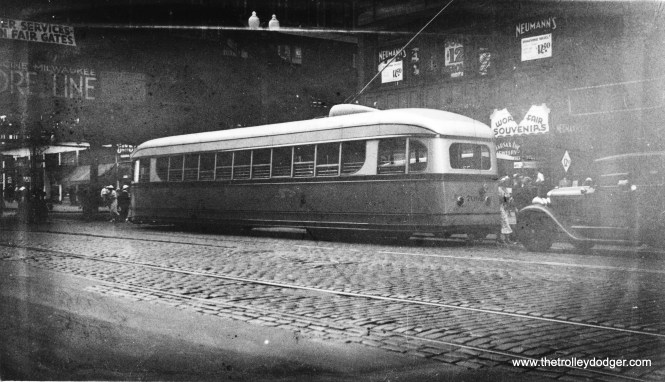 CSL 7001 at State and Van Buren in 1934.