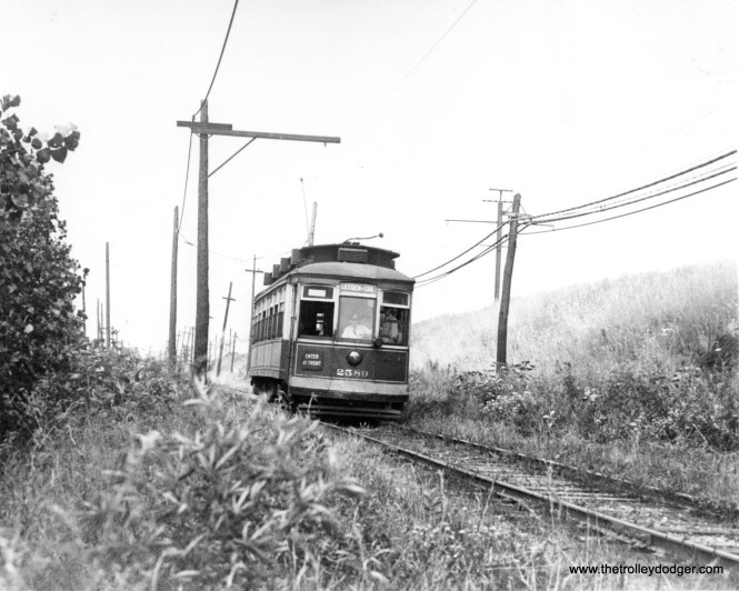 CSL 2589 on Indiana private-right-of-way south of 130th Street.