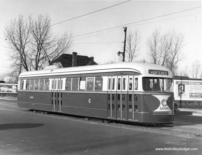 CSL 4006 in charter service, possibly on Western. (Krambles-Peterson Archive)