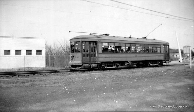 C&WT 140, still in the old paint scheme, on February 23, 1939.