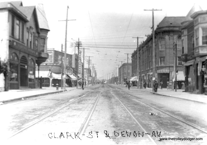 Clark and Devon in early days.