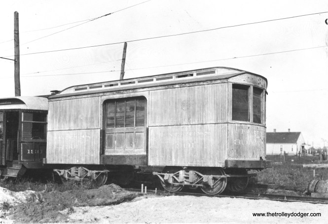 CO&P express freight car 301 in November 1910.