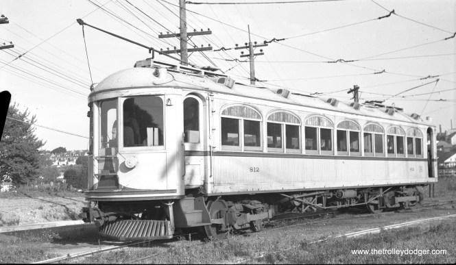 LVT 812 at Allentown in August, 1947. (C. Edward Hedstrom Photo)