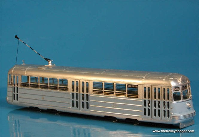 The St. Petersburg Tram Collection is now producing a very handsome model of the 1934 Chicago Surface Lines experimental pre-PCC car 4001.