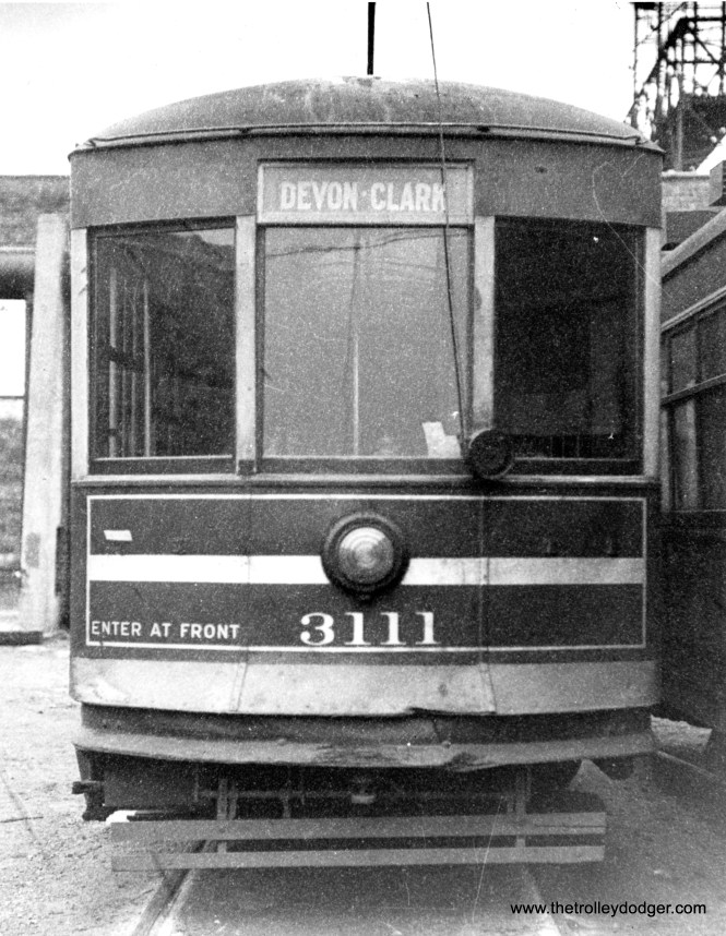 CSL 3111 at Devon Station. (Krambles-Peterson Archive)