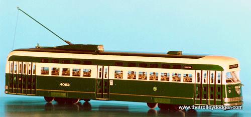 1952 Chicago Transit Authority Everglade Green and Cream.
