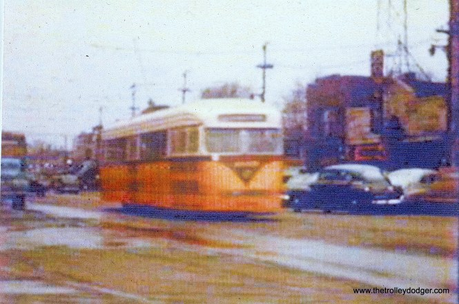 CSL 4035 on Madison near the west end of the line. (John Marton Collection)
