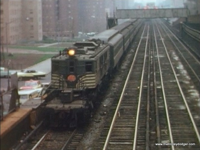 The New York Central in Manhattan.