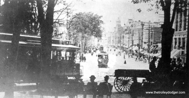 Schenectady Railway - State Street from Park.