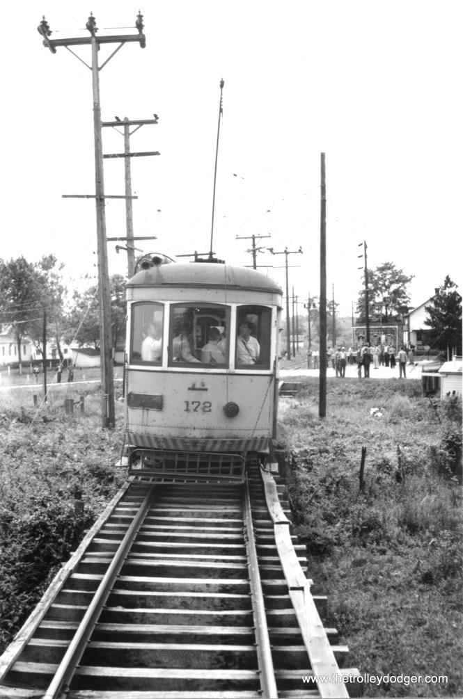 H&F 178 on a fantrip, probably circa 1954. (Railroad Record Club photo #12-129)