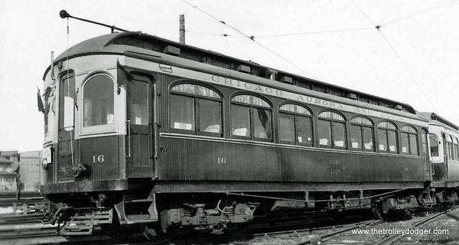 CA&E Car 16.